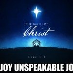 Sen. Judson Hill: Joy Unspeakable Joy – Merry Christmas