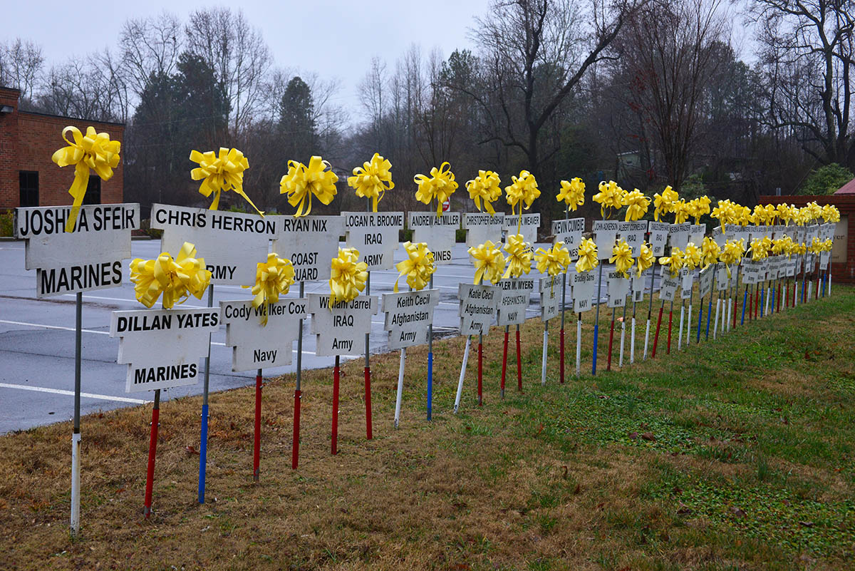 Dawsonville Ga Yellow Ribbons