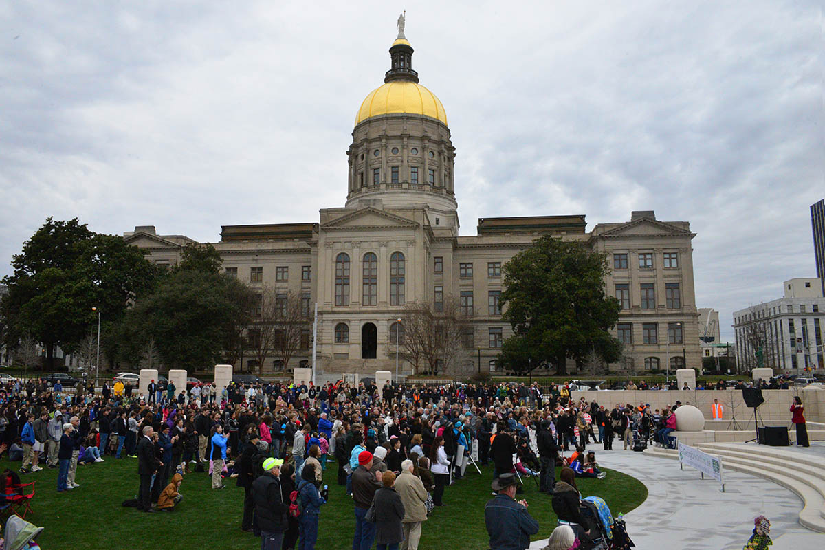 Liberty Plaza Pro-Life Rally