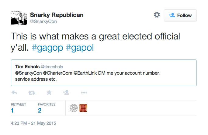 Echols Snarky Republican
