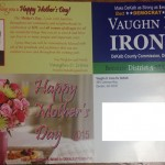 """The Vaughn Irons """"Mother's Day"""" Mailer"""