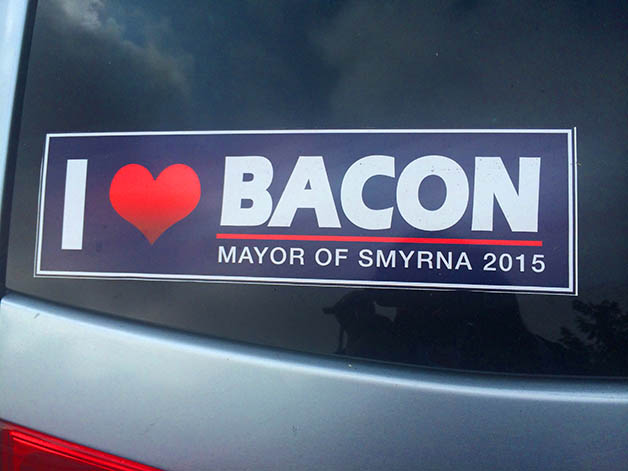 Heart Bacon Sticker628