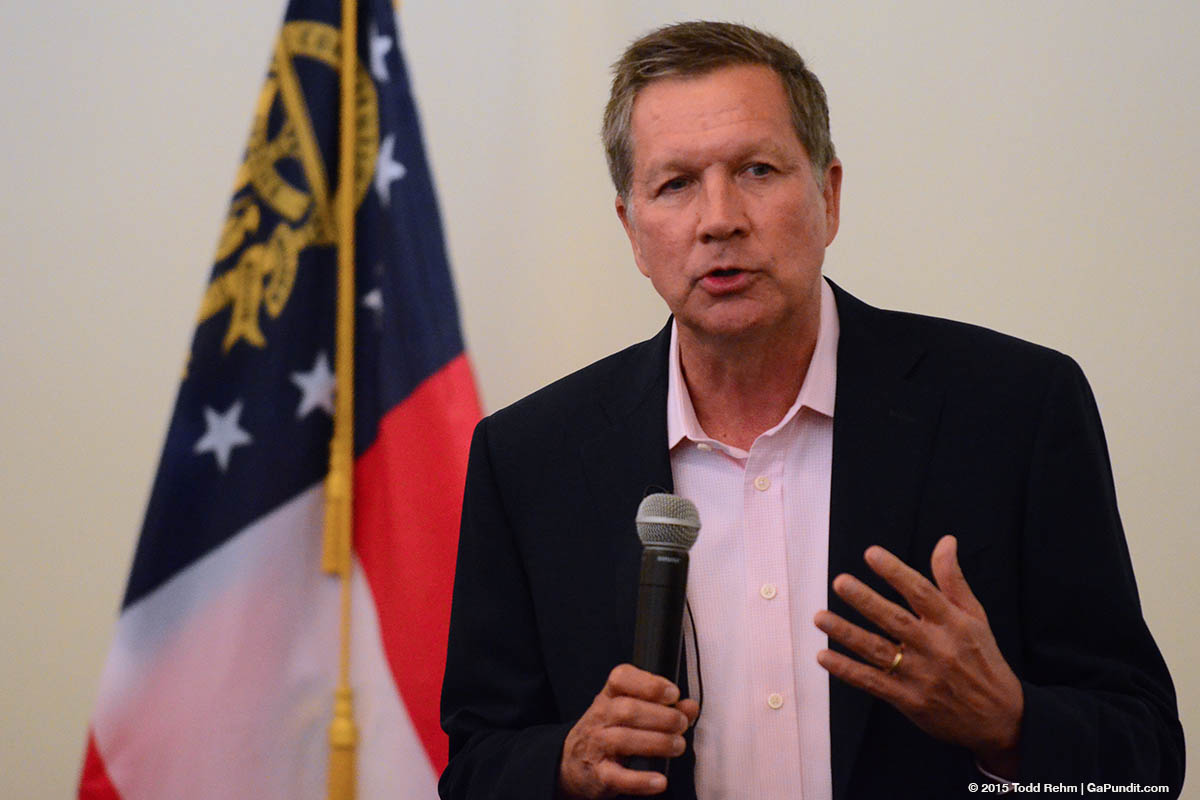 John Kasich at Fulton GOP