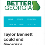 Georgia Politics, Campaigns, and Elections for July 17, 2015