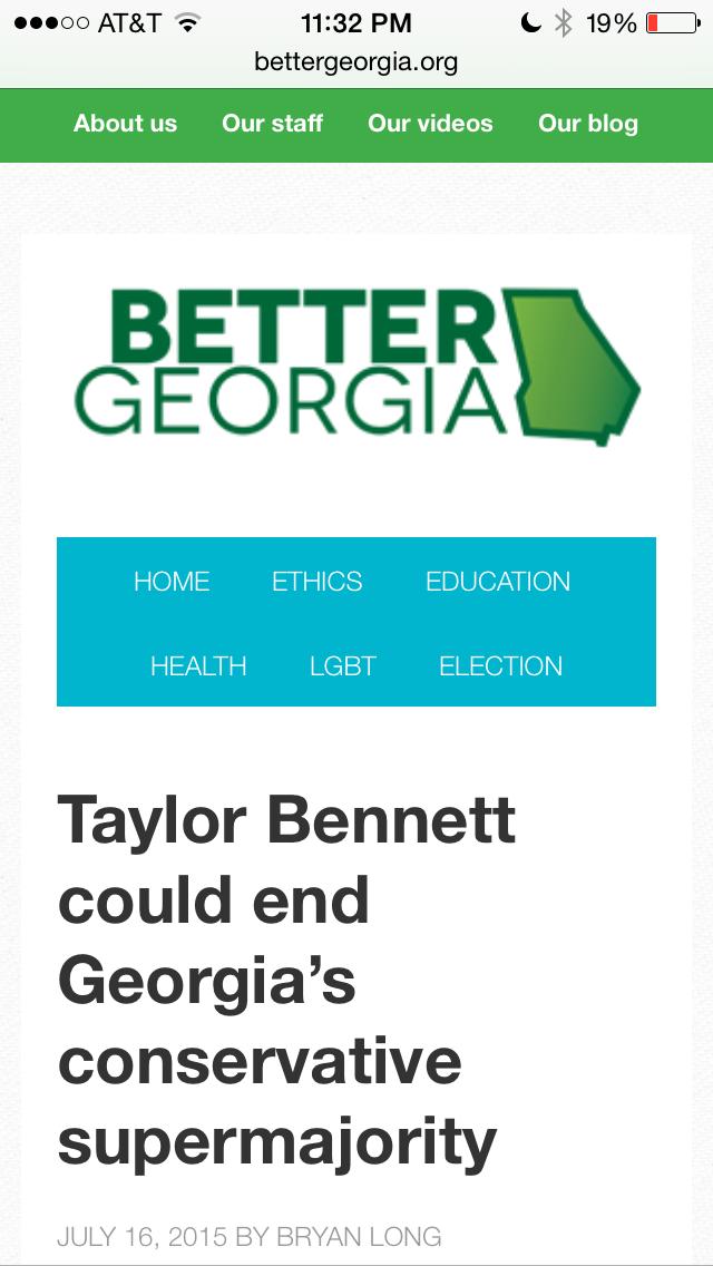 Better Georgia Taylor Bennett1