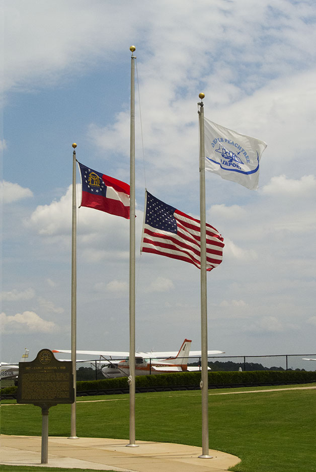 DeKalb Half Staff Wrong