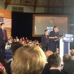 Guest Post: Julianne Thompson at the Wisconsin Announcement for Scott Walker
