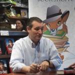 Ted Cruz at Fox Tale Book Shoppe in Woodstock, Georgia
