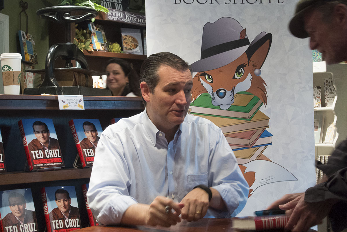 Ted Cruz Book Signing Best Front