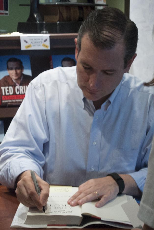 Ted Cruz Book Signing Portrait