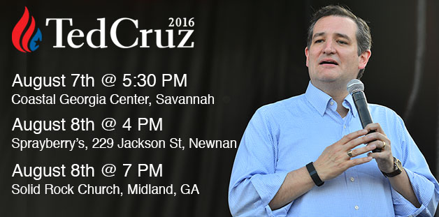 Ted Cruz Georgia Tour 07302015