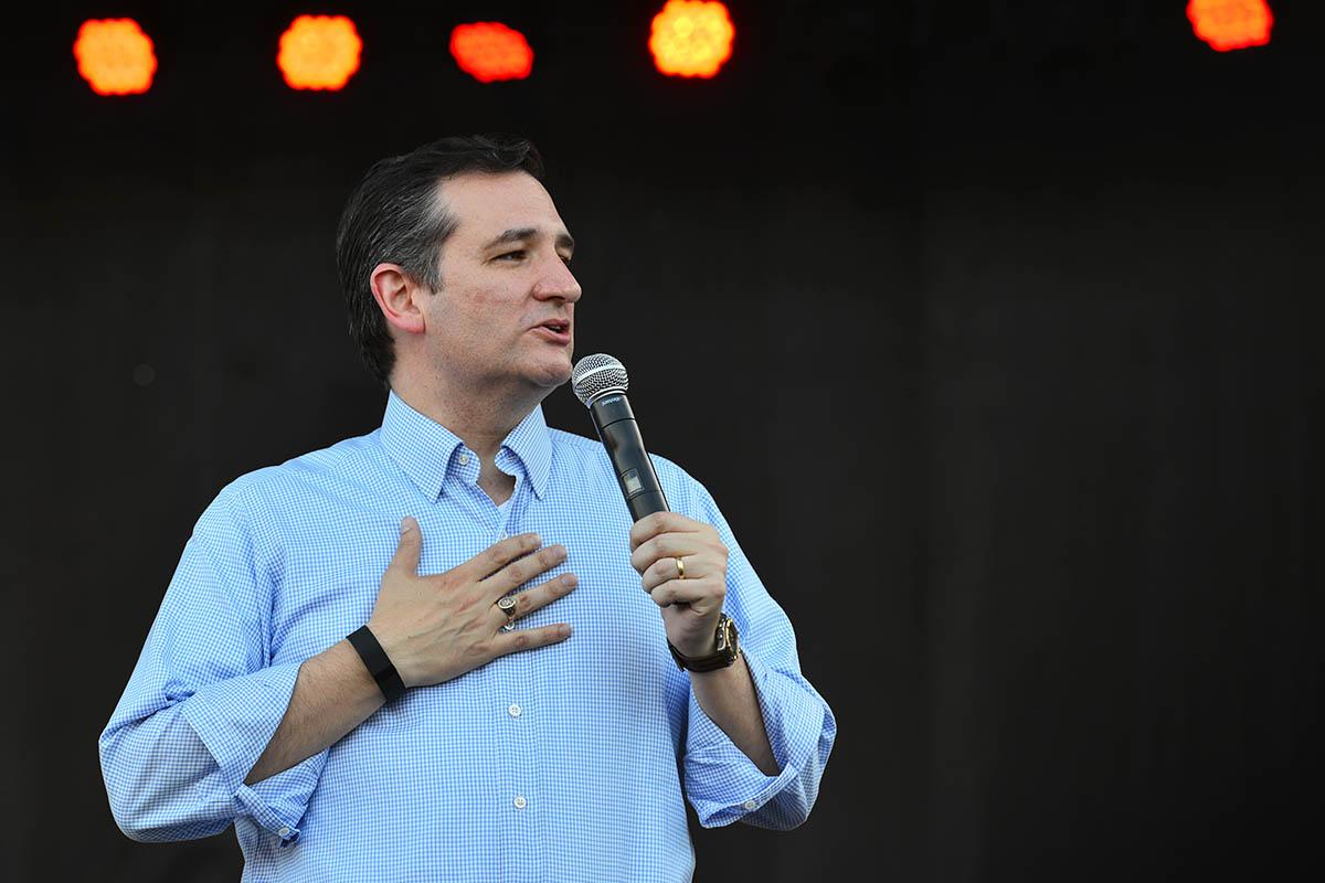 Ted Cruz Onstage Milner