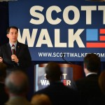 Wisconsin Governor Scott Walker in Atlanta