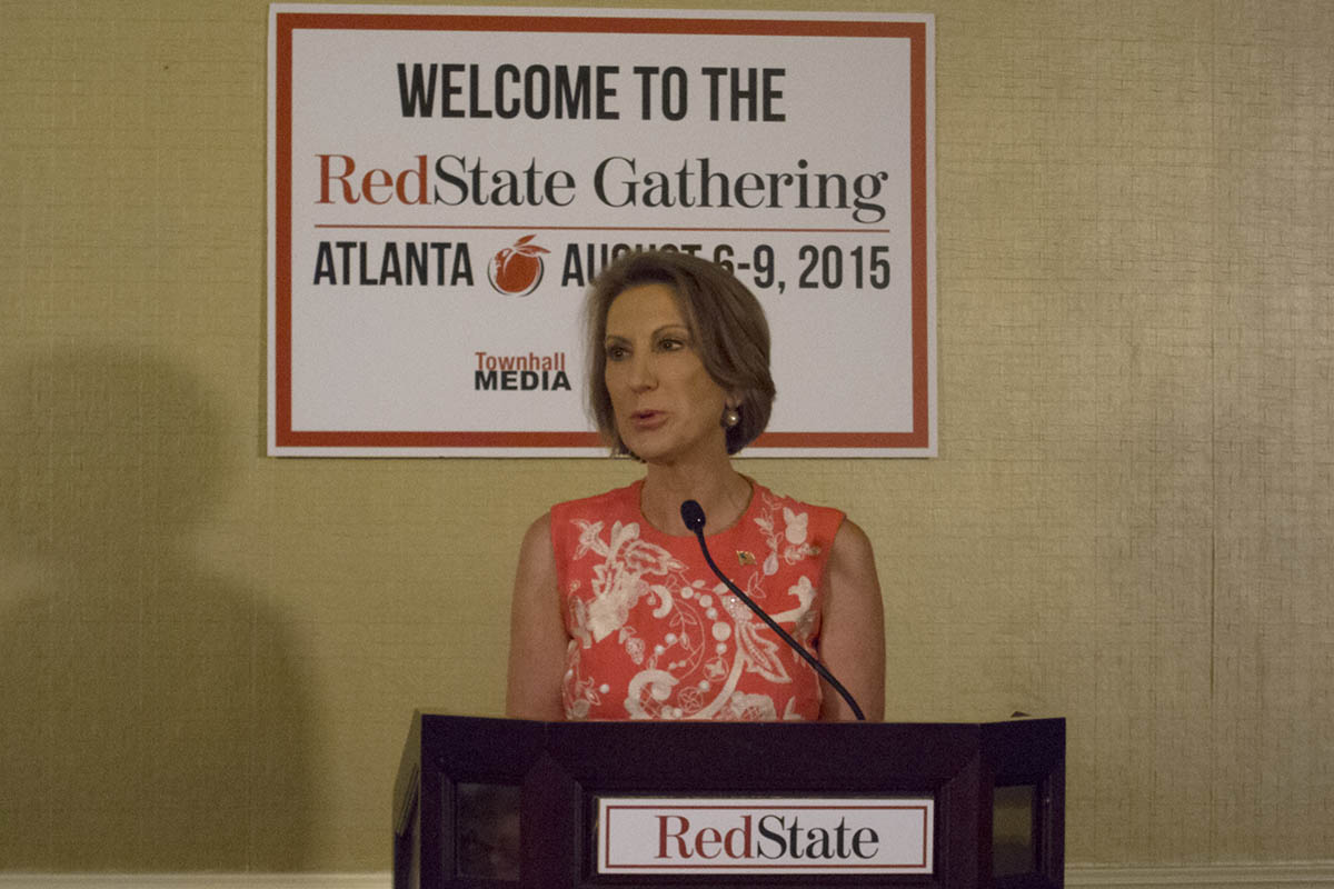Carly Fiorina at Red State Gathering