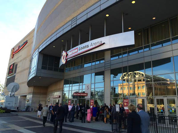 Quicken Loans Arena Debate