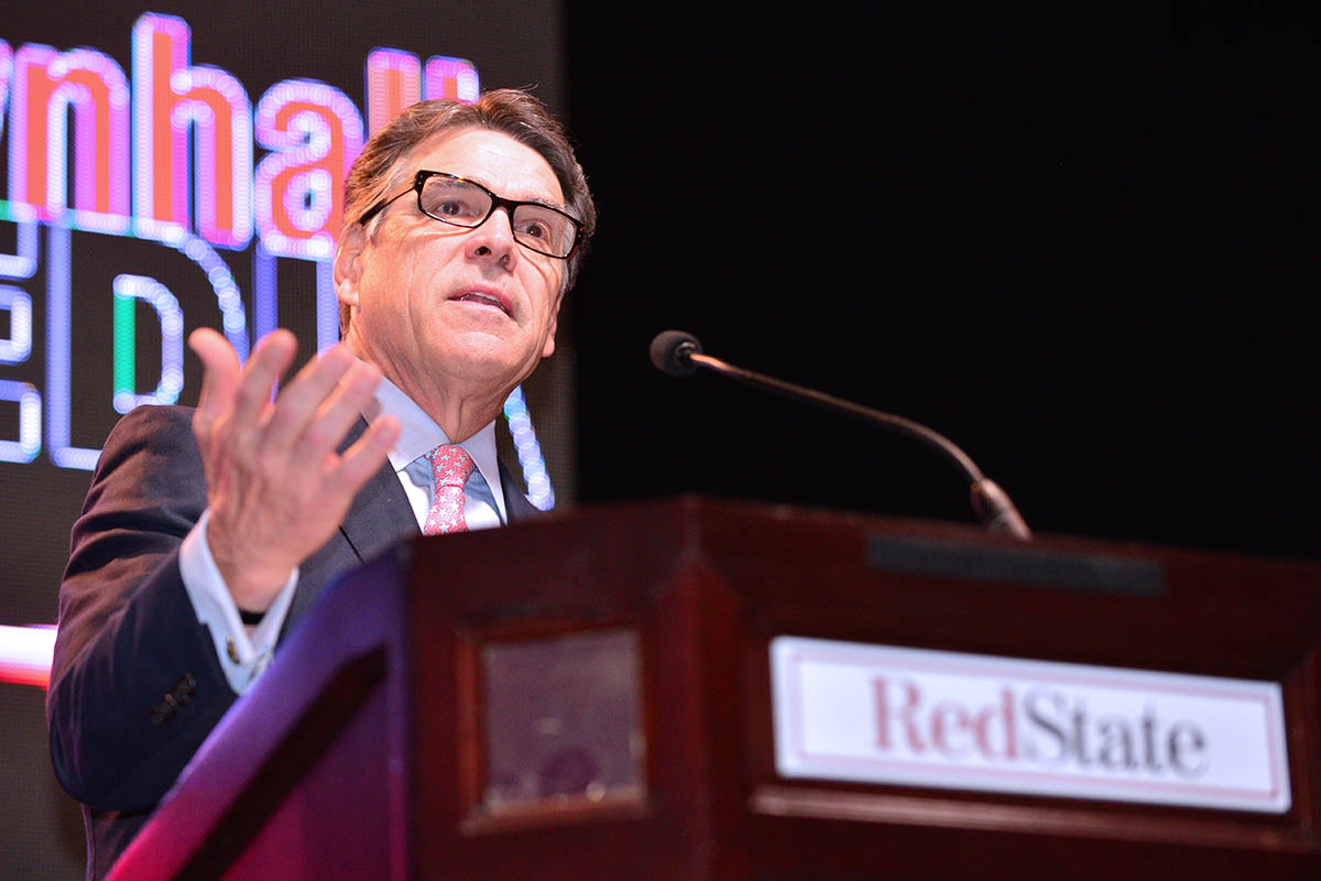 Rick Perry at RedState Gathering
