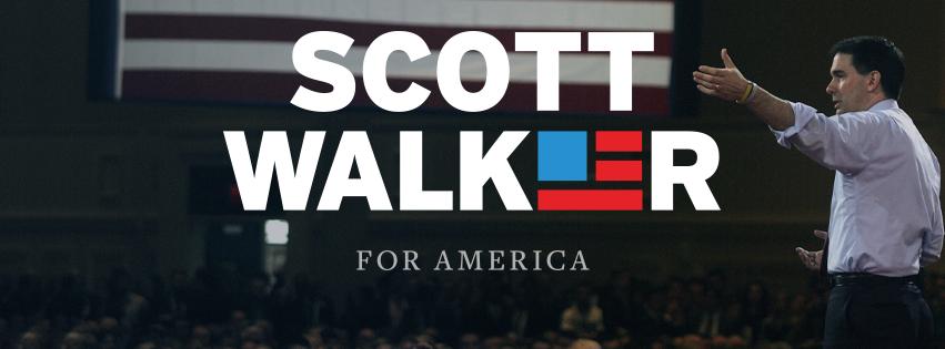 Scott Walker Banner