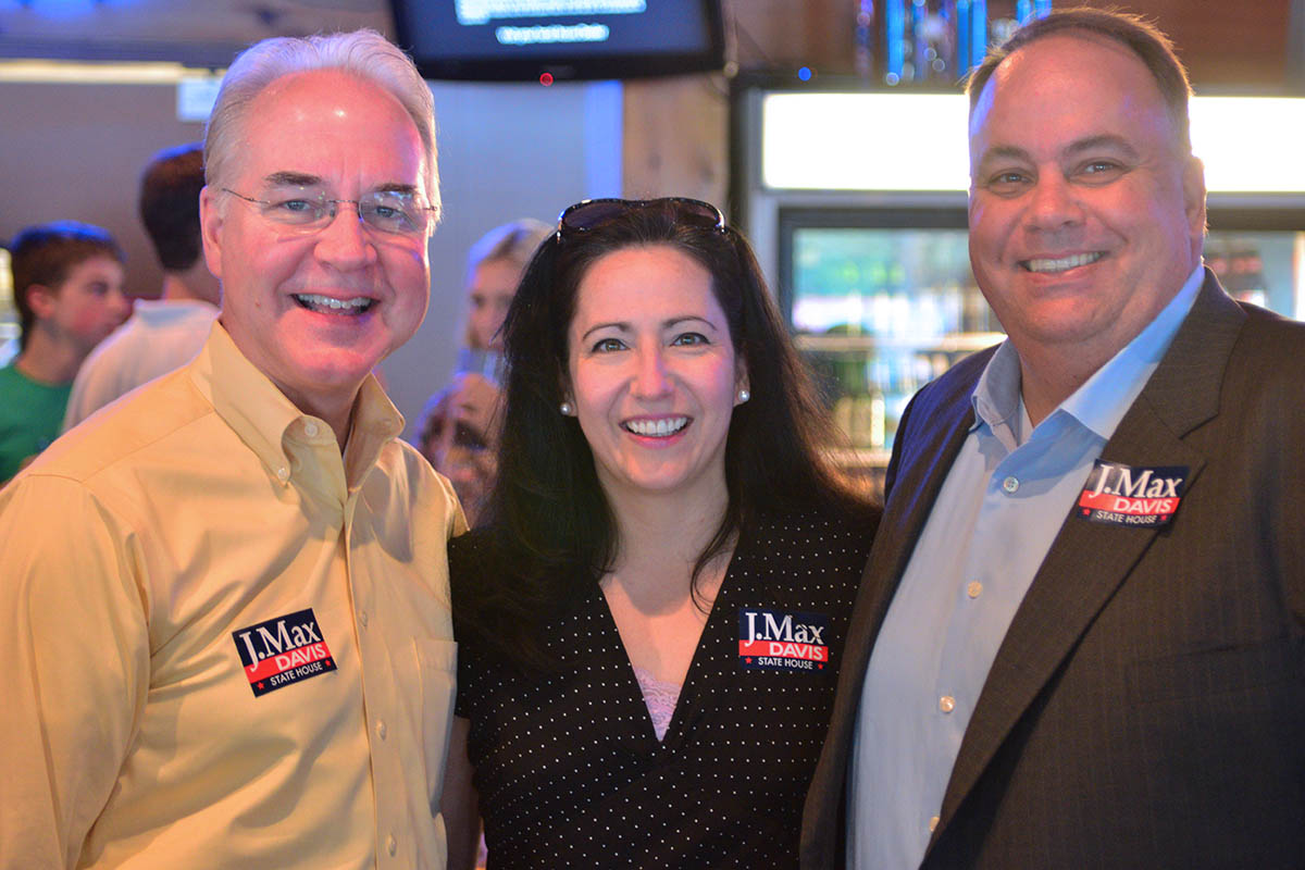 Tom Price, Nancy Jester, J Max Davis