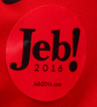 Jeb2016 UGA sticker