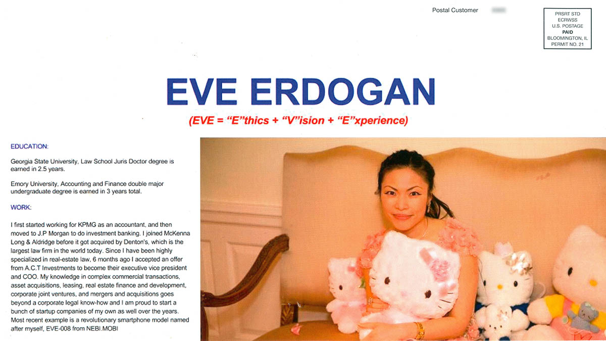 Eve Erdogan Hello Kitty