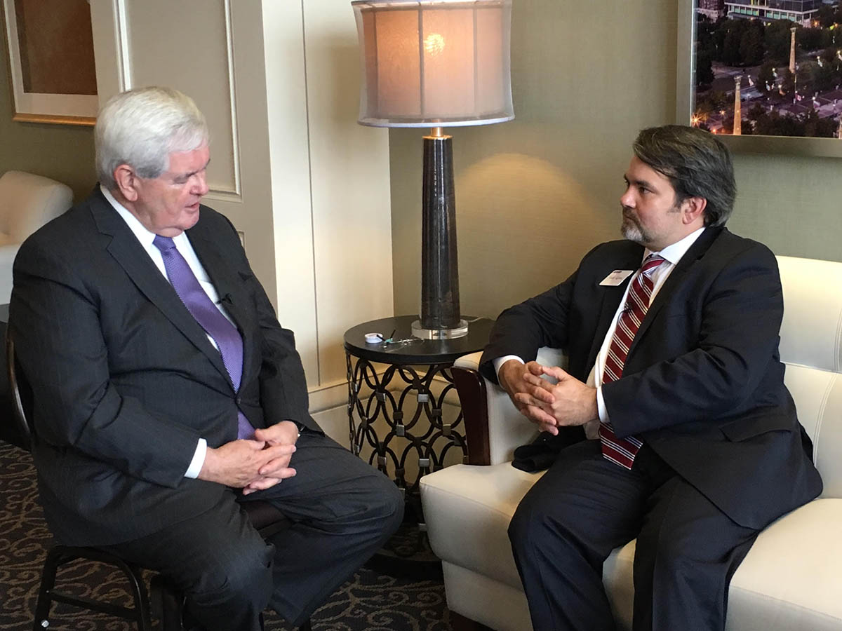 Todd Rehm Newt Gingrich2