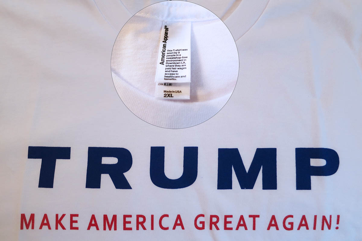 Trump Campaign Shirt American Apparel