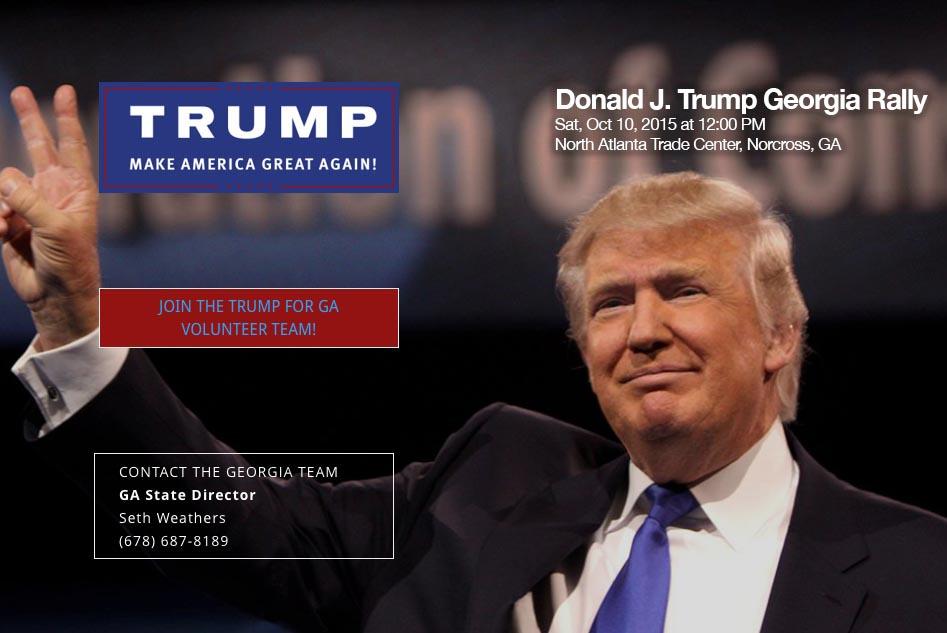 Trump GA Rally