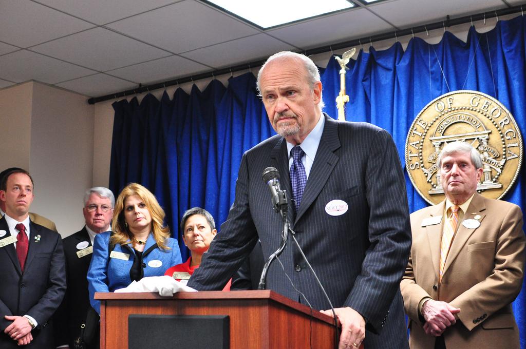 Fred Thompson Endorses Newt Gingrich Georgia