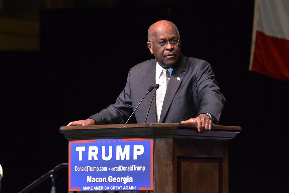 Cain Trump Macon