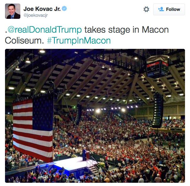 Joe Kovac Twitter
