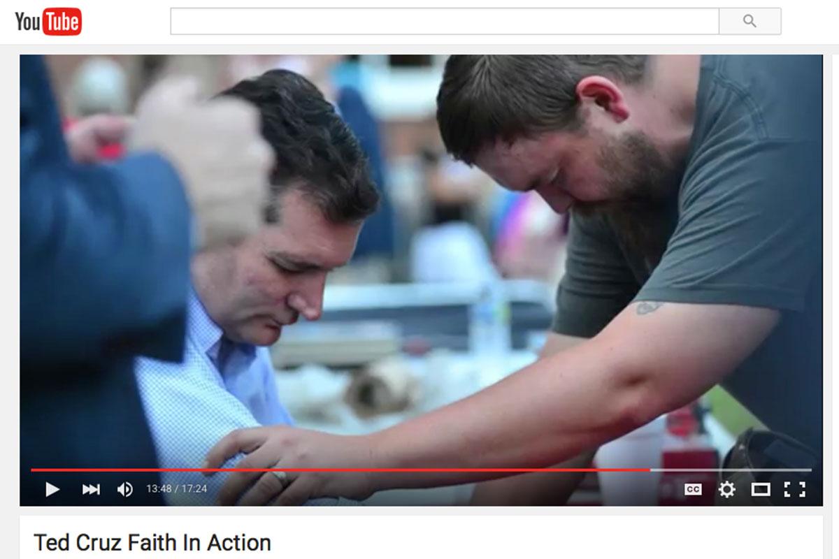 Ted Cruz Faith in Action