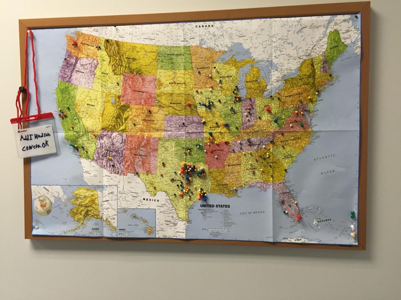Cruz Campaign Map