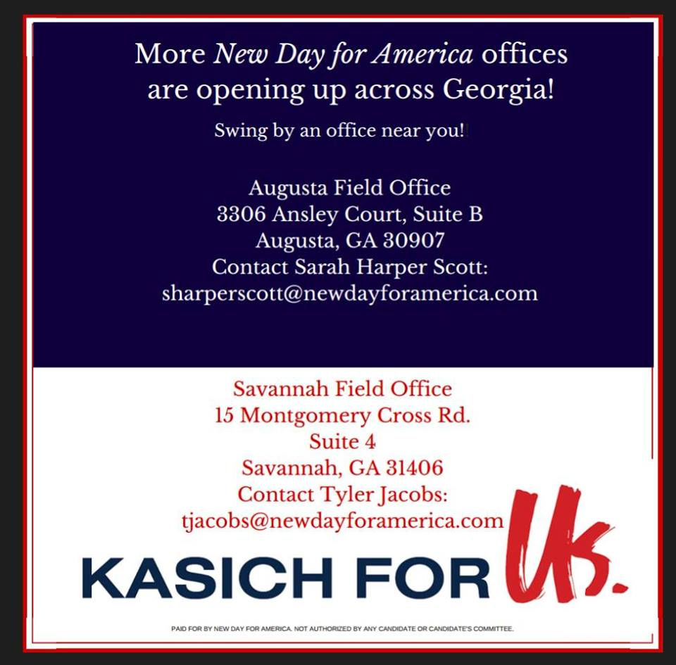 Kasich Augusta Office