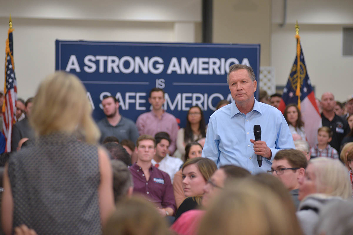 Kasich College Girl Question