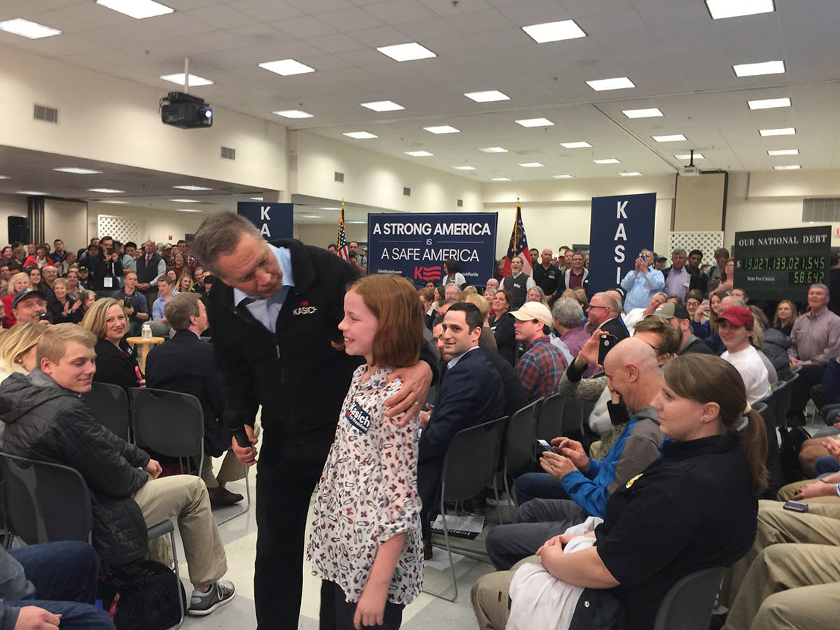 Kasich Little Girl