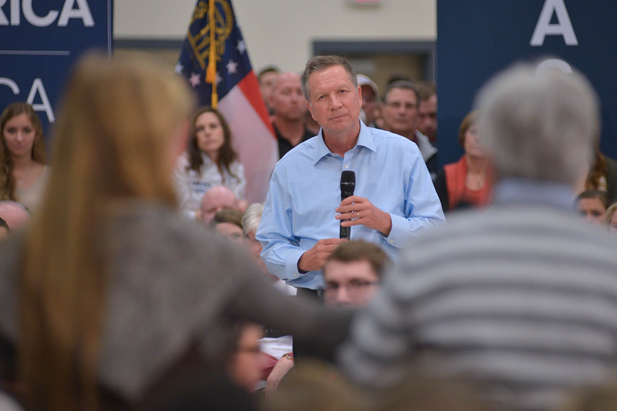 Kasich Question Two Women