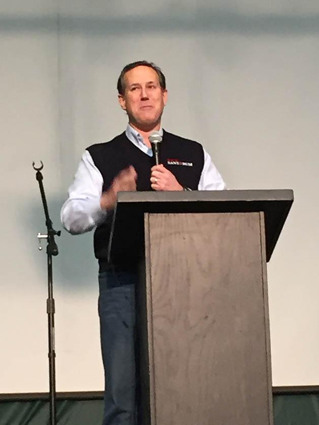 Rick Santorum Des Moines