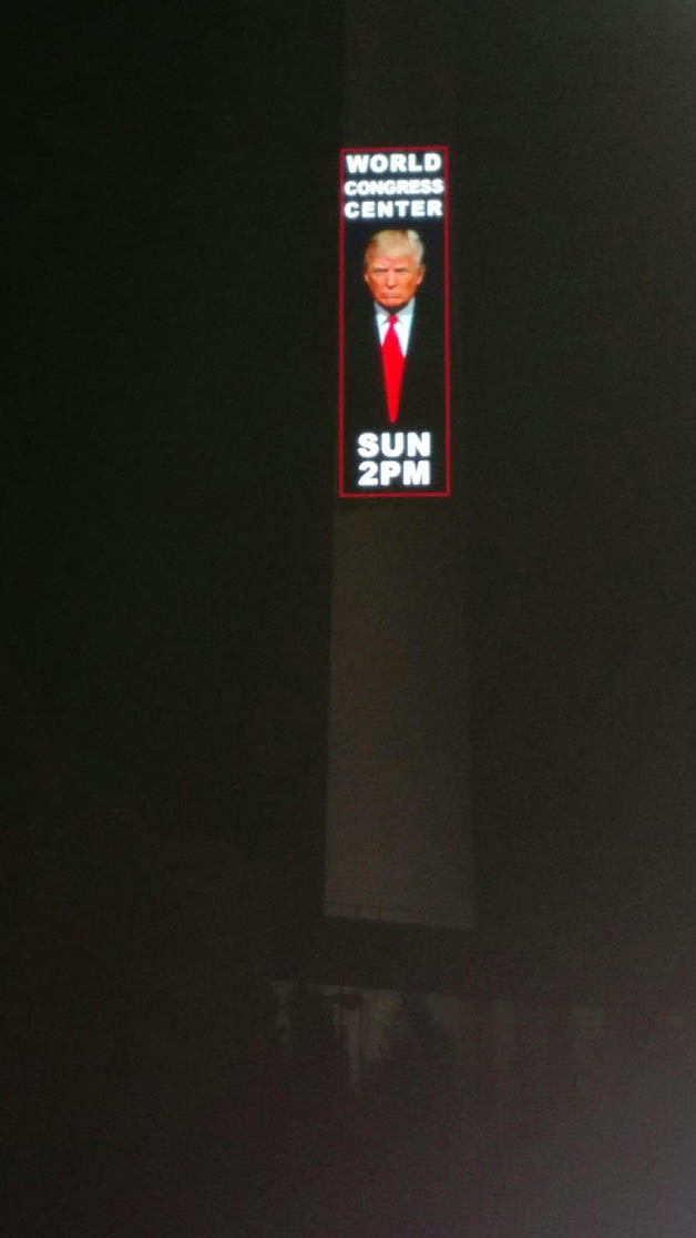 Trump Atlanta Billboard