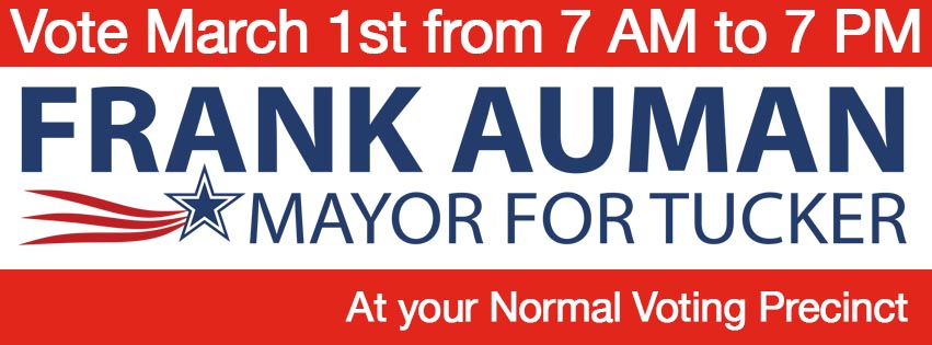 Frank Auman March 1 Header