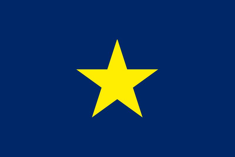 Texas Flag 1836-39