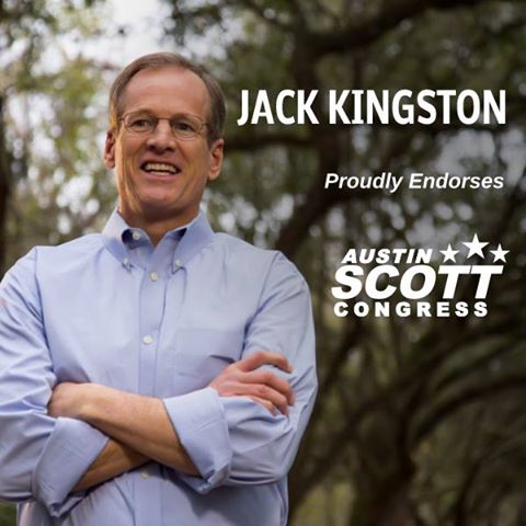 Jack Kingston endorses Austin Scott