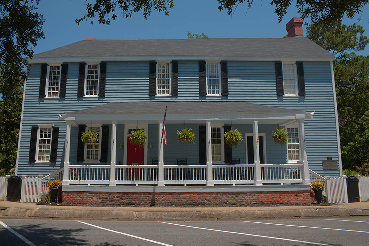 Aaron Burr House St Marys GA Front