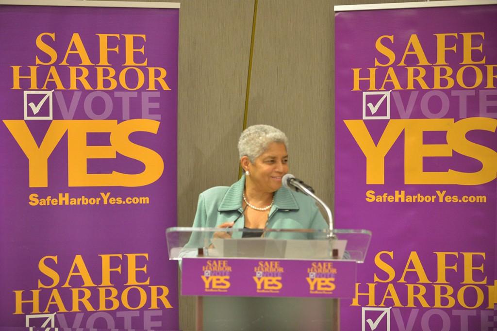 Shirley Franklin Safe Harbor Yes