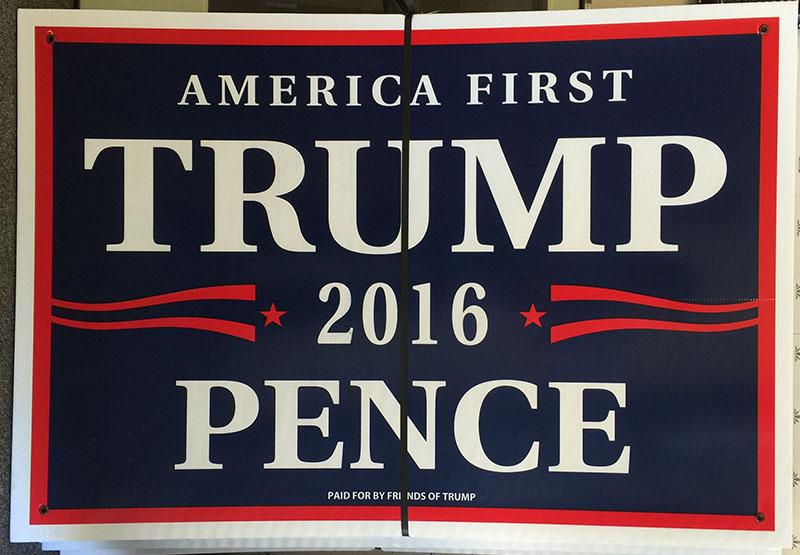 Trump Large Sign