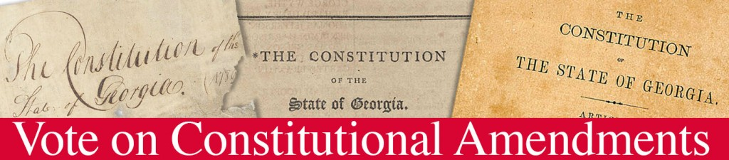 Georgia Constitution Header GaPundit
