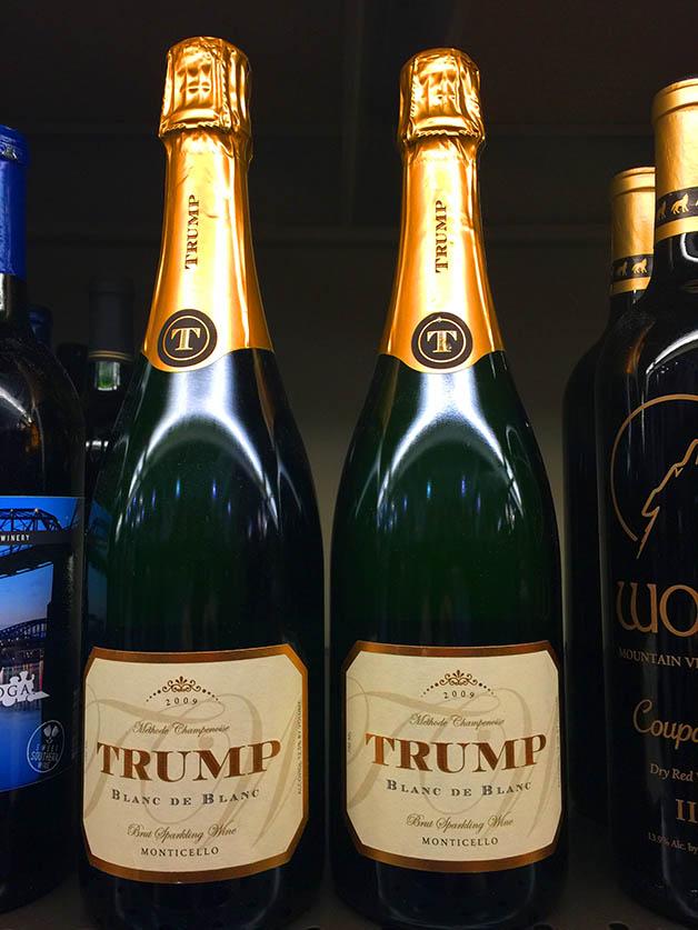 Trump Sparkling Wine