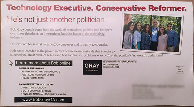 Bob Gray Mail 1 Back