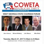 Georgia Politics, Campaigns, and Elections for March 21, 2017
