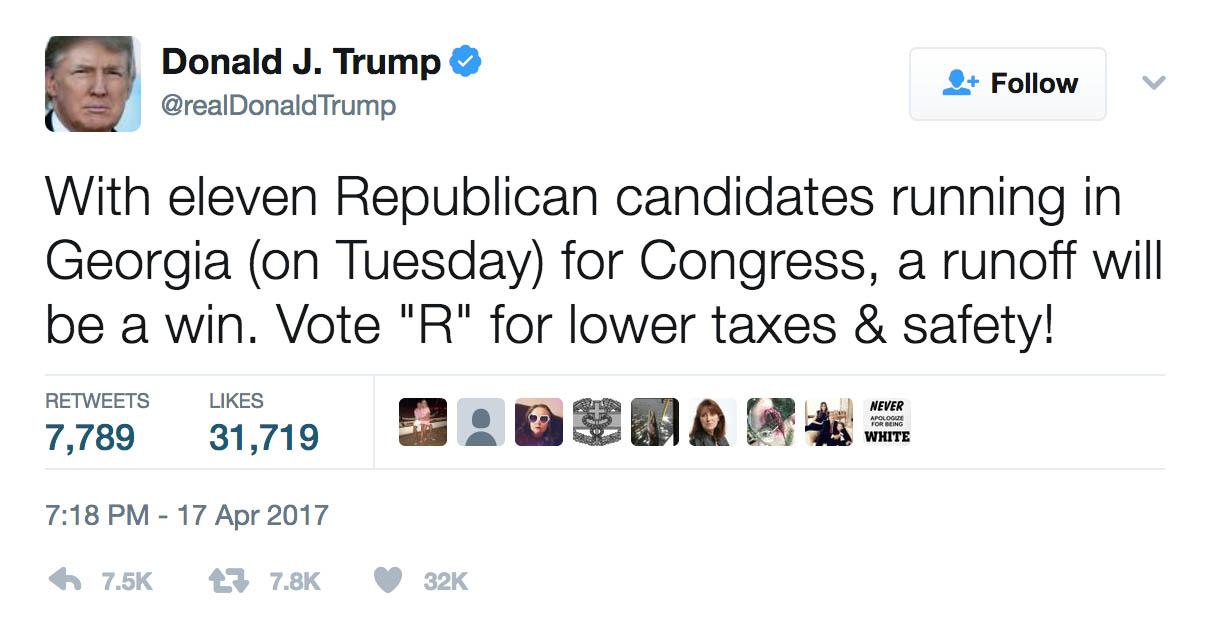 Trump Tweet Eleven