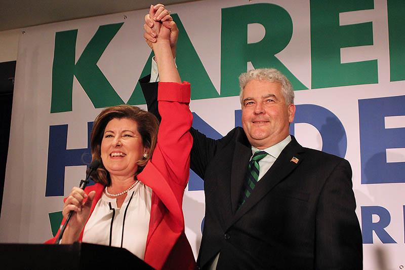 Karen and Steve Handel